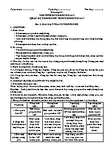 Giáo án Hình học 11 - Bài 4 - Hai mặt phẳng vuông góc