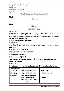 Giáo án Lớp 5 - Tuần 12 (Phần 1) - Trường Tiểu học Tích Lương 1