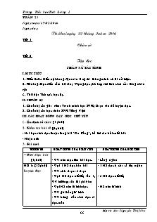 Giáo án Lớp 5 - Tuần 23 - Trường Tiểu học Tích Lương 1