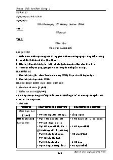 Giáo án Lớp 5 - Tuần 27 - Trường Tiểu học Tích Lương 1