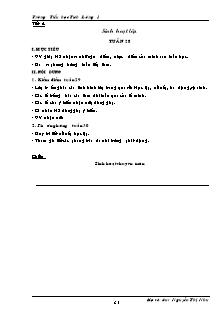 Giáo án Lớp 5 - Tuần 29 - Trường Tiểu học Tích Lương 1