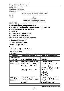 Giáo án Lớp 5 - Tuần 35 - Trường Tiểu học Tích Lương 1