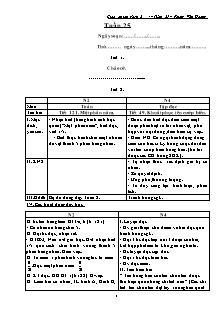 Giáo án lớp ghép 2 + 4 – Tuần 25 – Phùng Văn Hoàng