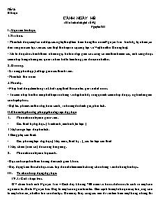 Giáo án Ngữ văn 10 - Tiết 36 - Cảnh ngày hè (Bảo kính cảnh giới số 43) Nguyễn Trãi