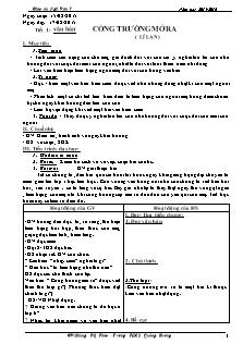 Giáo án Ngữ Văn 7 - GV: Phùng Thị Thảo - Trường THCS Quảng Phương
