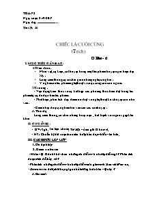 Giáo án Ngữ văn 8 - Tuần 8