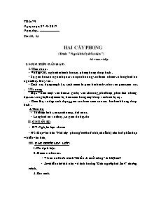 Giáo án Ngữ văn 8 - Tuần 9