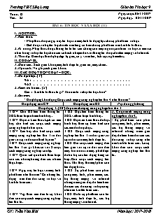 Giáo án Tin học 9 - Tiết 23 Bài 6 - Tin học và xã hội (tt)
