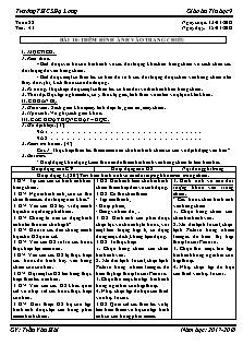 Giáo án Tin học 9 - Tiết 41 Bài 10 - Thêm hình ảnh vào trang chiếu