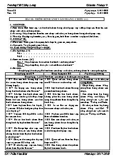 Giáo án Tin học 9 - Tiết 42 Bài 10 - Thêm hình ảnh vào trang chiếu (tt)