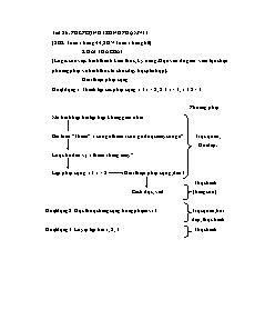 Giáo án Toán 1 - Tiết 26 - Phép cộng trong phạm vi 3