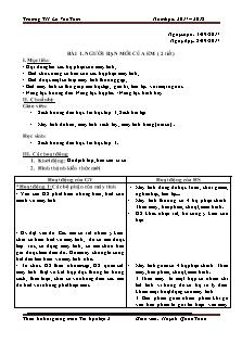 Thiết kế bài giảng môn Tin học lớp 3 - Bài 1 đến 6 - Giáo viên: Huỳnh Quốc Tuấn - Trường TH Lê VănTám