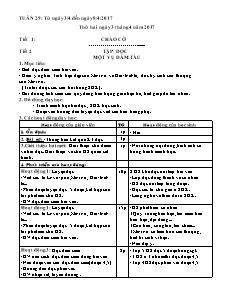 Giáo án Tuần 29 - Khối 5