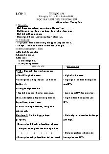 Giáo án Âm nhạc lớp 3, 4, 5 - Học kì 2