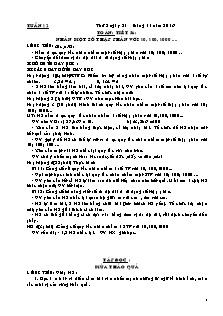 Giáo án các môn Tuần 12 - Lớp 5