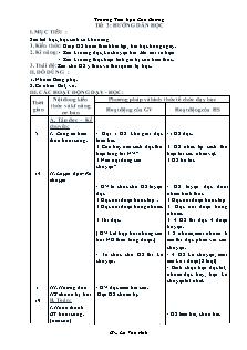 Giáo án Hướng dẫn học lớp 3 - Tuần 17 - Trường Tiểu học Cao Dương
